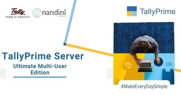 TallyPrime Server | Nandini Infosys